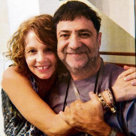 """עם טרי גונזלס־מרשל. """"זו הייתה אהבה ממבט ראשון"""", היא אומרת"""