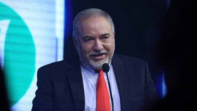 Defense Minister Lieberman (Photo: Motti Kimchi)