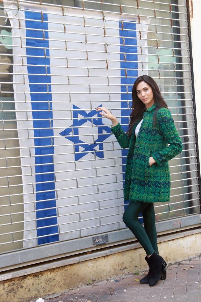 אישה חזקה. תאלין אבו חנא (צילום: ענת מוסברג)