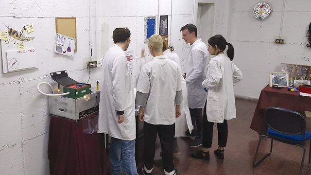 סטודנטים בחדר הבריחה (צילום: MINDOOR ) (צילום: MINDOOR )