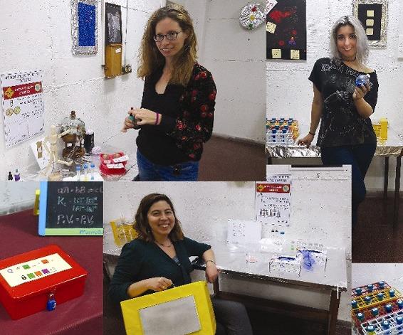 סטודנטים בחדר הבריחה (צילום: MINDOOR )