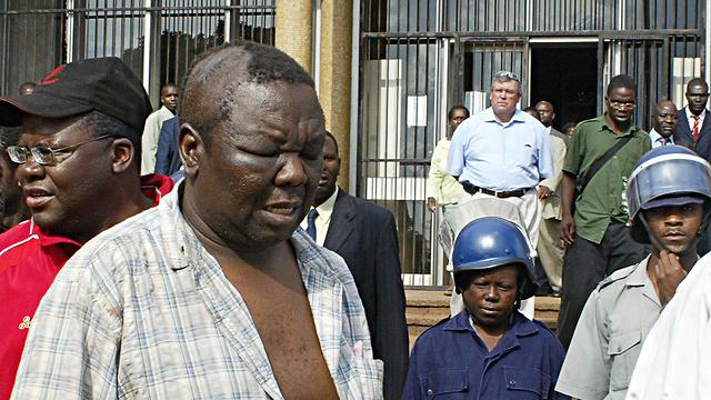 הוכה פעמים רבות על ידי כוחות הביטחון ונפגע קשות בראשו במעצר משטרתי ב-2007 (צילום: AFP) (צילום: AFP)