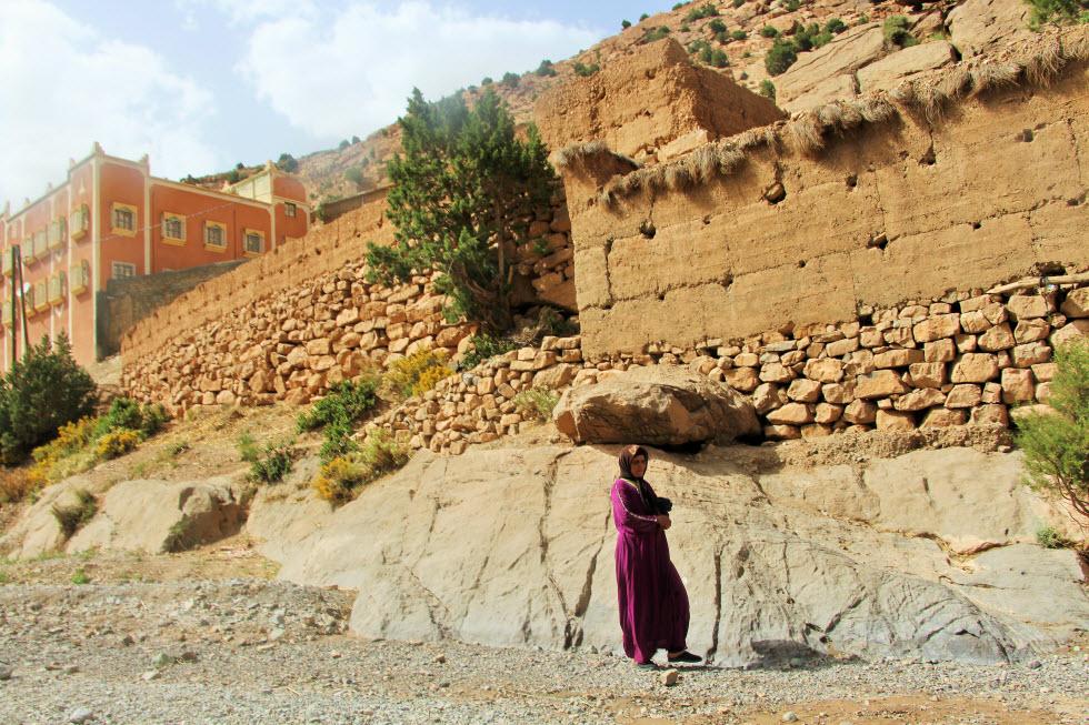 אישה בהרי האטלס (צילום: גלית פרז) (צילום: גלית פרז)