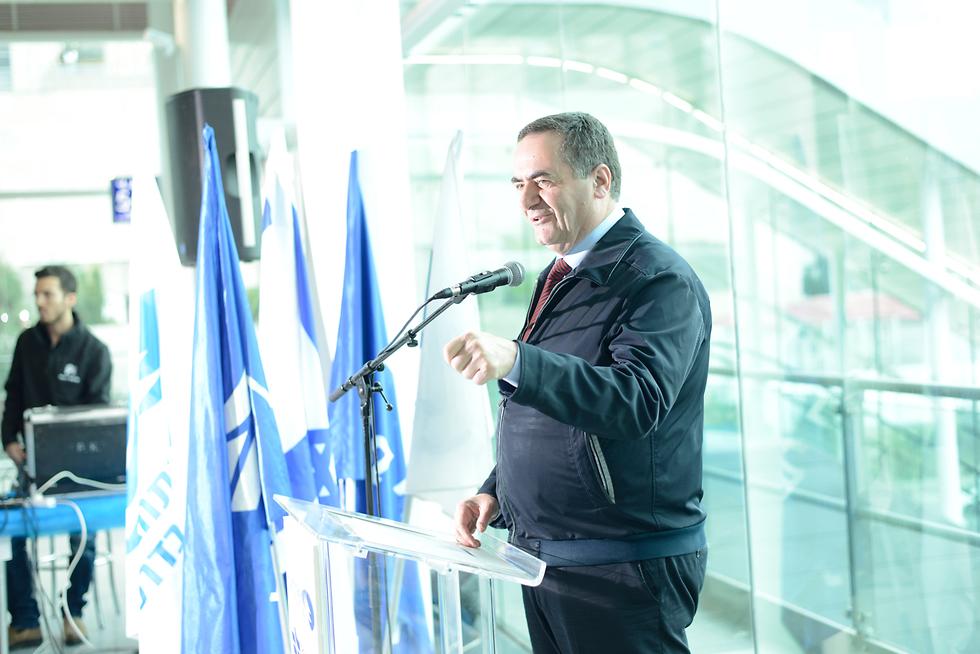 """שר התחבורה כץ: """"לאפשר לנתניהו להמשיך להוביל את מדינת ישראל"""" (צילום: יובל חן) (צילום: יובל חן)"""