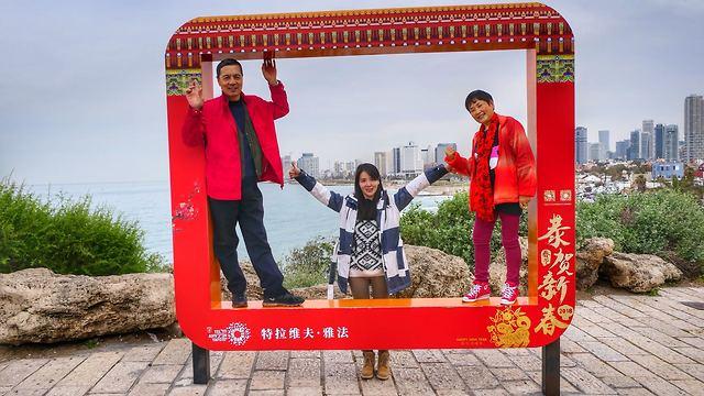 הגידול בתיירות מסין נעצר בשל עיצומי משרד החוץ (צילום: דני שדה) (צילום: דני שדה)