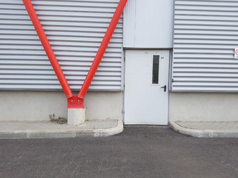 הפרטים שעושים את הבניין (צילום: אורן אלדר)