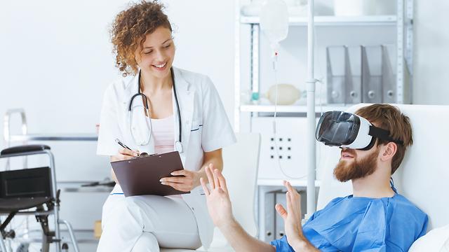 הצלחות ייחודיות. VR בבתי החולים (אילוסטרציה: Shutterstock) (אילוסטרציה: Shutterstock)