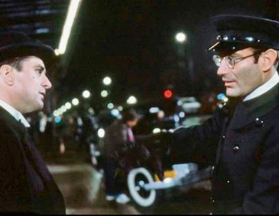 """עם רוברט דה־נירו בסרט """"היו זמנים באמריקה"""" בהפקתו"""