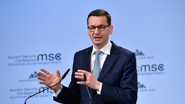 ראש ממשלת פולין מורבייצקי (צילום: AFP) (צילום: AFP)