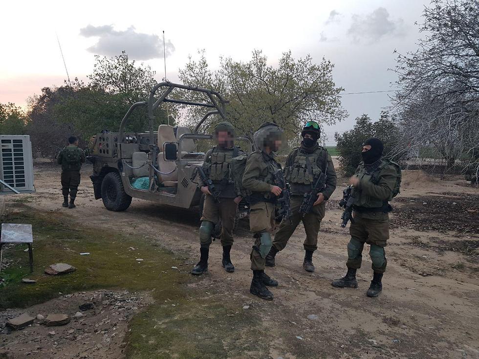 """כוחות צה""""ל הוזעקו למקום האירוע (צילום: בראל אפרים) (צילום: בראל אפרים)"""