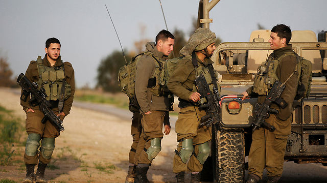IDF forces near the Gaza border (Photo: Reuters)