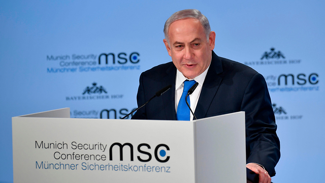 Prime Minister Benjamin Netanyahu often talks about the Holocaust. Perhaps he could also defend its memory (Photo: AFP)