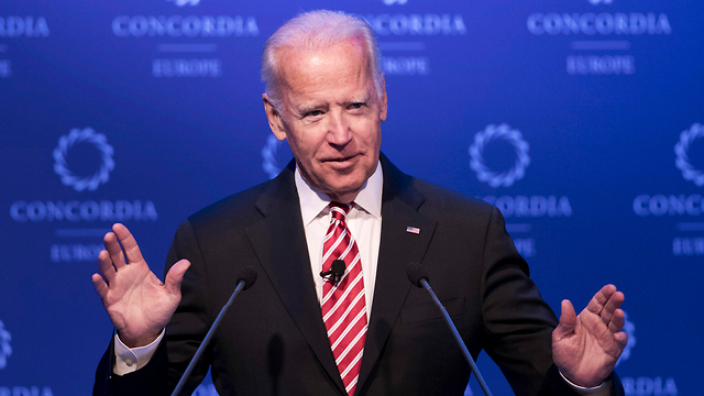 ביידן. הפשרה שתיתכן: נשיא לכהונה אחת (צילום: AP) (צילום: AP)