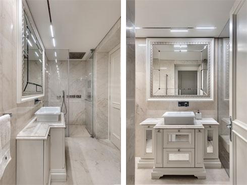 חדר הרחצה ושירותי האורחים (צילום: עודד סמדר)