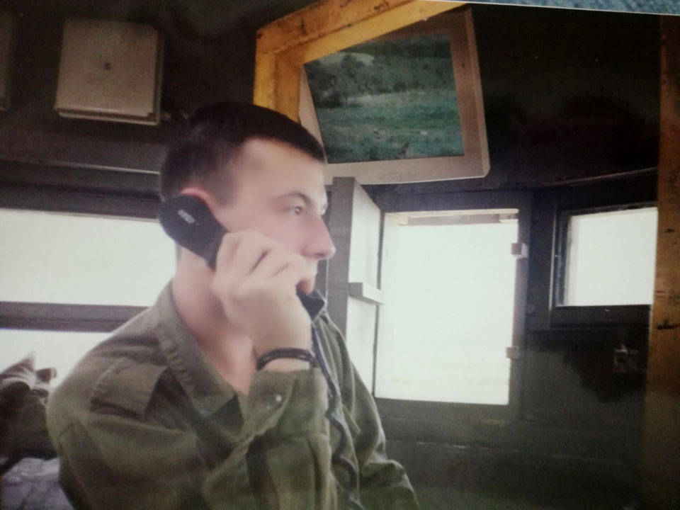 Данил на военной службе. Фото из семейного архива