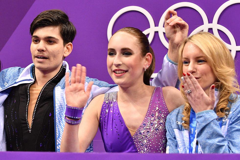 טנקובה וזילברברג דווקא מרוצים מהתוצאה (צילום: AFP) (צילום: AFP)