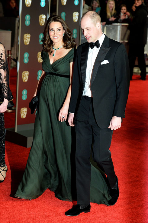 שוברת את השחור: מדוע לבשה קייט מידלטון שמלה ירוקה לבאפטה? לחצו על התמונה לכתבה המלאה (צילום: Gettyimages)