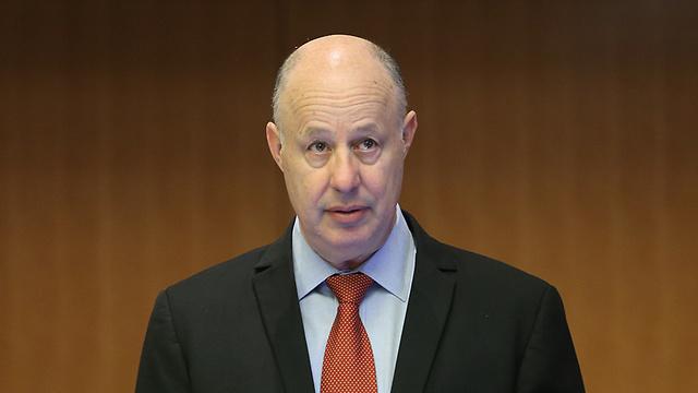 Minister Tzachi Hanegbi (Photo: Alex Kolomoisky)