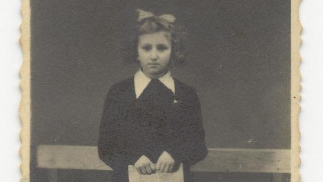 Ronen Bergman's mother as a child