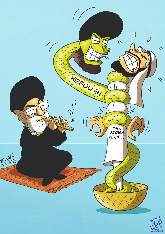 Khameni fiddles as Hezbollah chokes Syrians