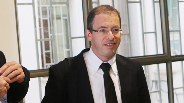 Hefetz's attorney, Yaron Kostelitz. Resigned following dramatic development (Photo: Alex Kolomoisky)