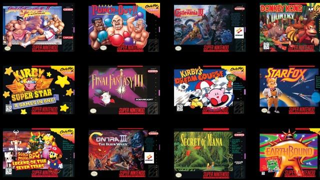 """21 משחקים. קונסולת SNES מיני (צילום: יח""""צ) (צילום: יח"""