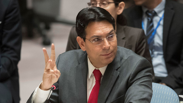 Israeli UN Ambassador Danny Danon (Photo: AP)