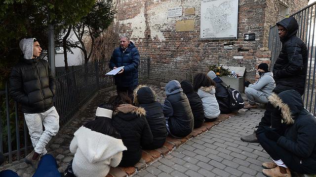 גטו ורשה, פולין (צילום: AP) (צילום: AP)