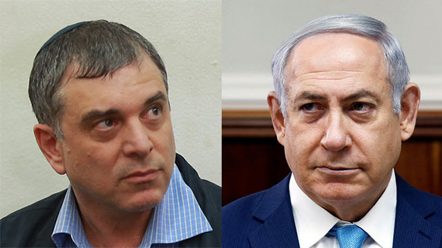Communications Ministry Director-General Filber (L) signed a state witness agreement to testify against PM Netanyahu (Photo: Reuters, Orel Cohen)