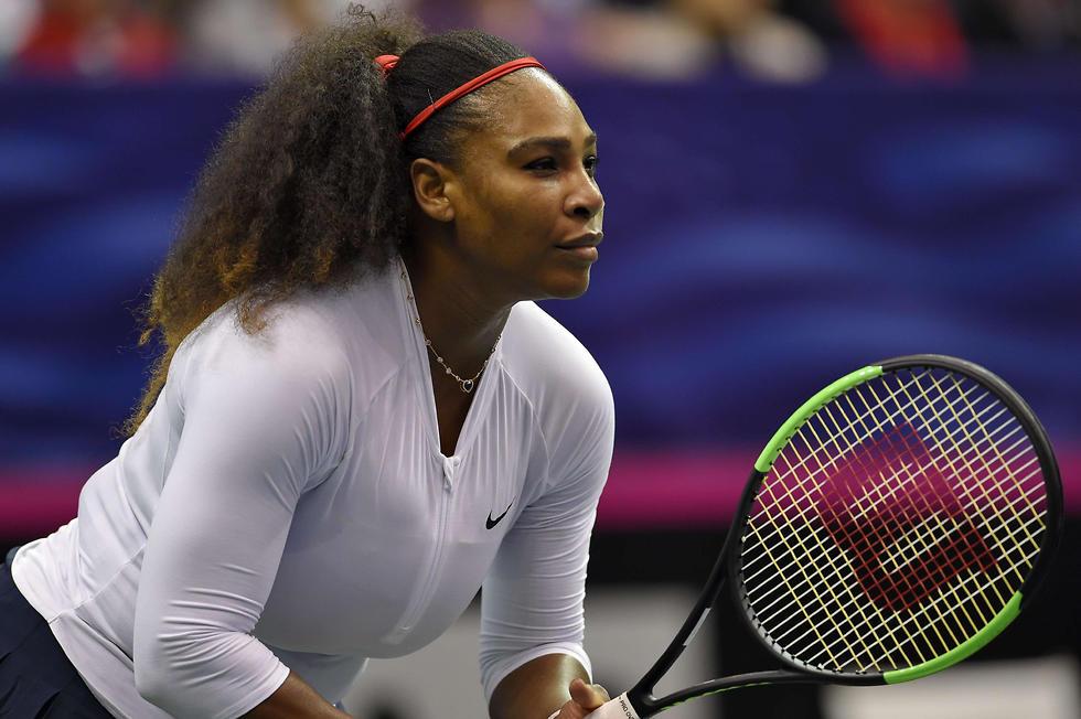 וויליאמס במשחק החזרה שלה (צילום: AFP) (צילום: AFP)