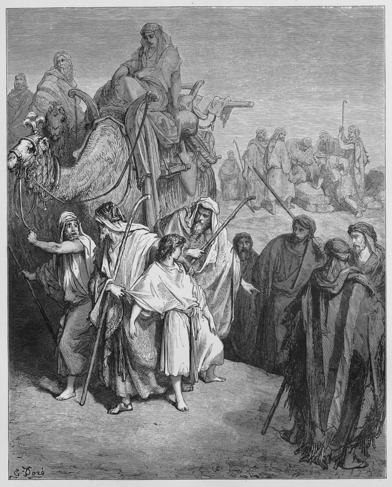 יוסף נמכר לעבדות על ידי אחיו (צילום: shutterstock)