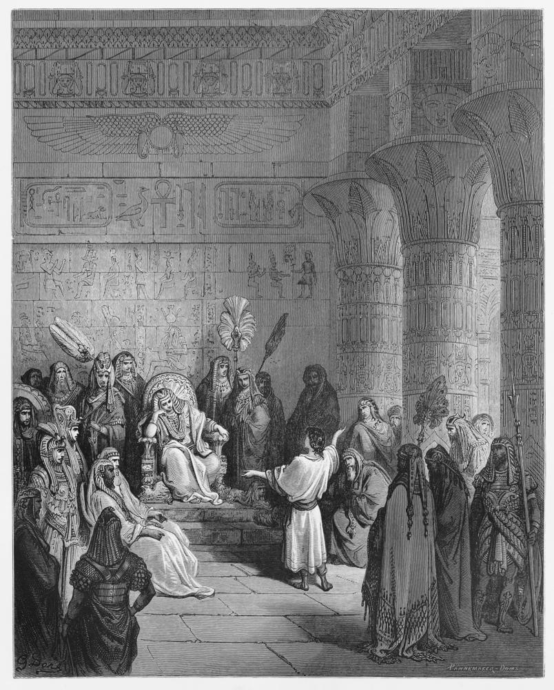 יוסף מפרש את חלום פרעה (צילום: shutterstock)