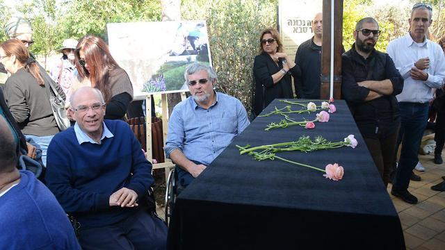 הלווייתה של נטע רוטמן בכפר סבא, היום (צילום: יאיר שגיא) (צילום: יאיר שגיא)