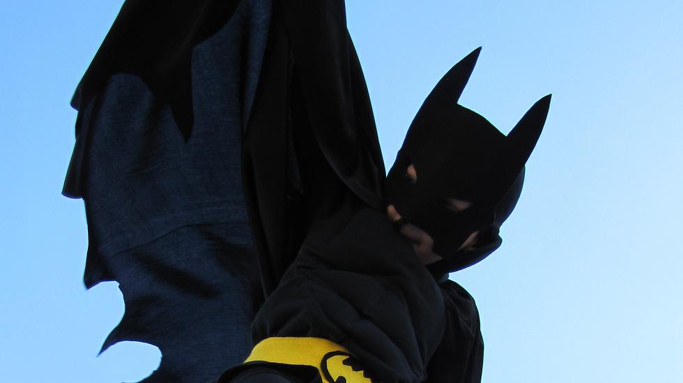 תחפושת באטמן שיצרה הדס אבידור גולדין (צילום: הדס אבידור גולדין) (צילום: הדס אבידור גולדין)