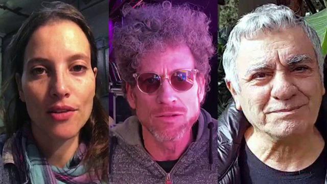 גברי לוי, ירמי קפלן ורננה רז מתנגדים לגירוש ()
