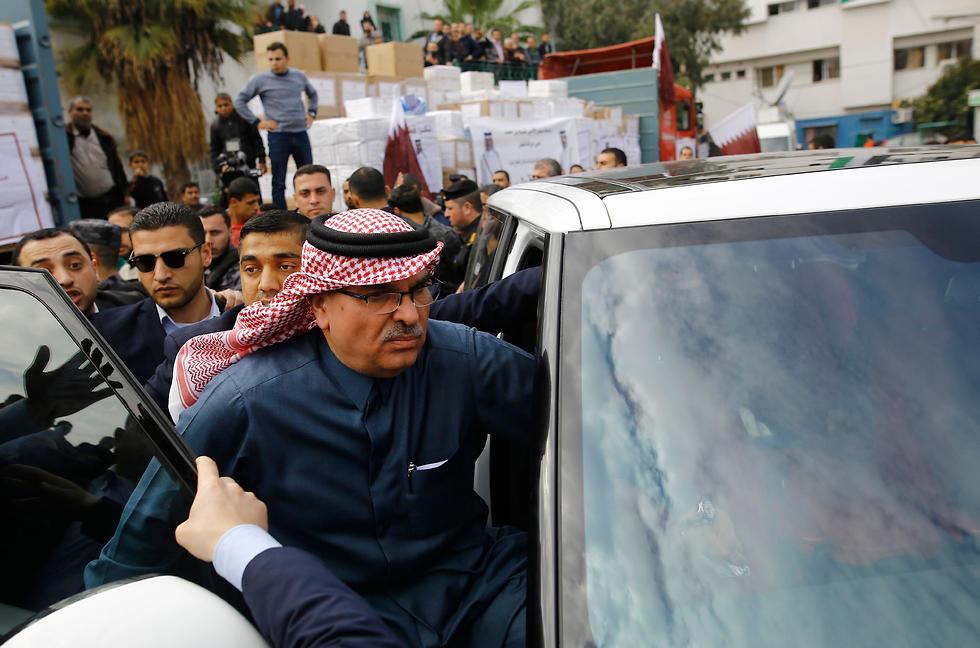 Al-Emadi visits Gaza