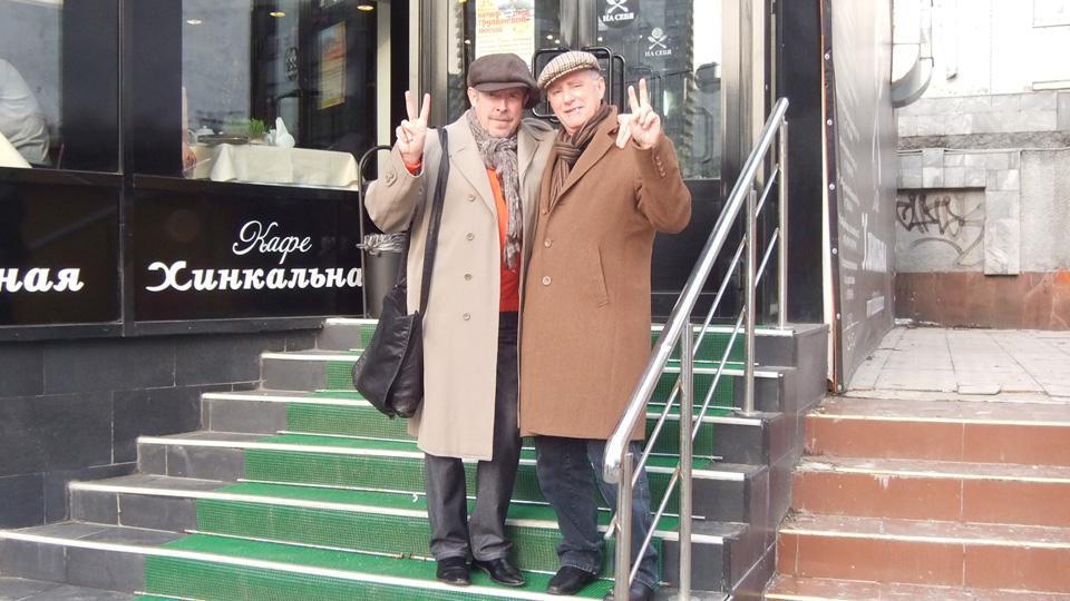 Андрей Макаревич и Миша Голдовский Фото: из личного архива Миши Голдовского