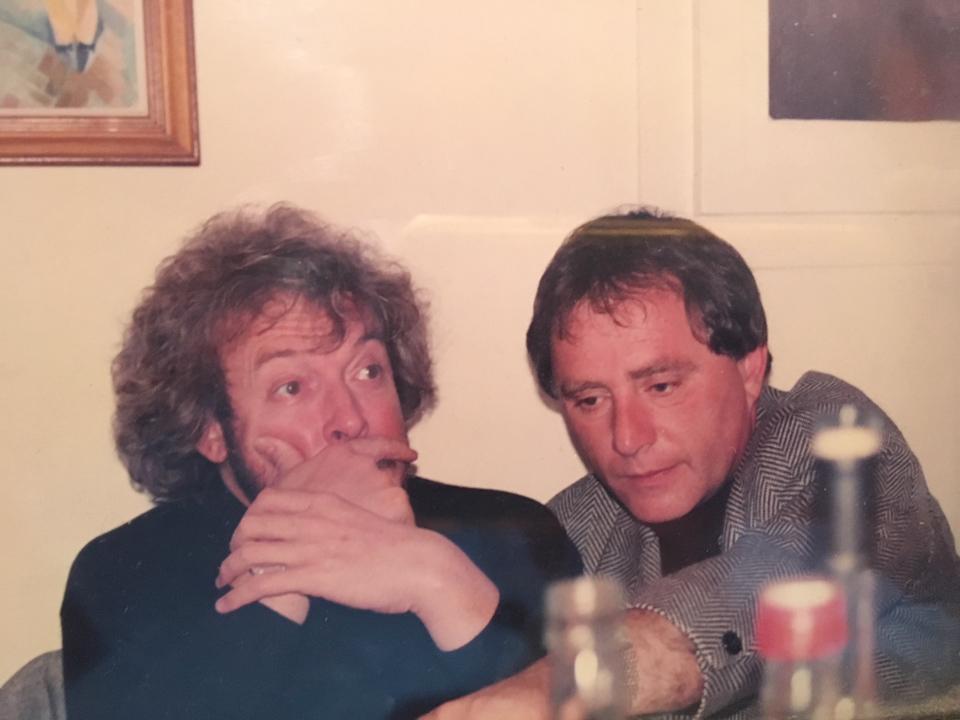 Андрей Макаревич и Миша Голдовский в начале 2000-х Фото: из личного архива Миши Голдовского