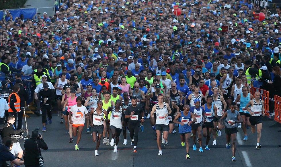 מרתון תל אביב. יעבור במוקדים היפים בעיר (צילום: ראובן שוורץ) (צילום: ראובן שוורץ)