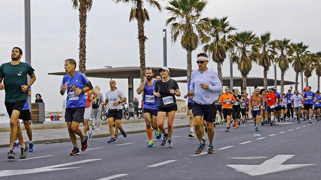 מרתון תל אביב ב-2018 (צילום: מושיק שמע) (צילום: מושיק שמע)