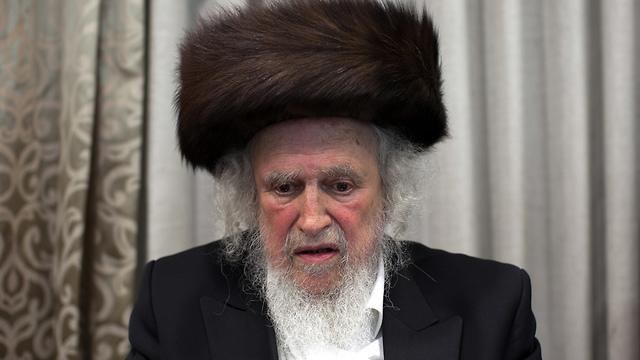 הרב שמואל אוירבך (צילום: אוהד צויגנברג) (צילום: אוהד צויגנברג)