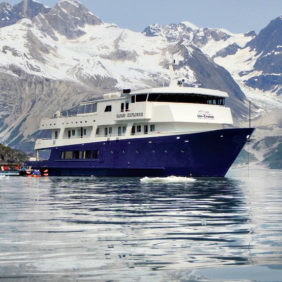 האוניה Safari .Explorer אין מקום לספינות ענק