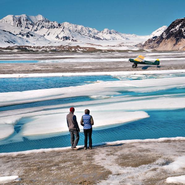 נחיתת שטח על קרחון