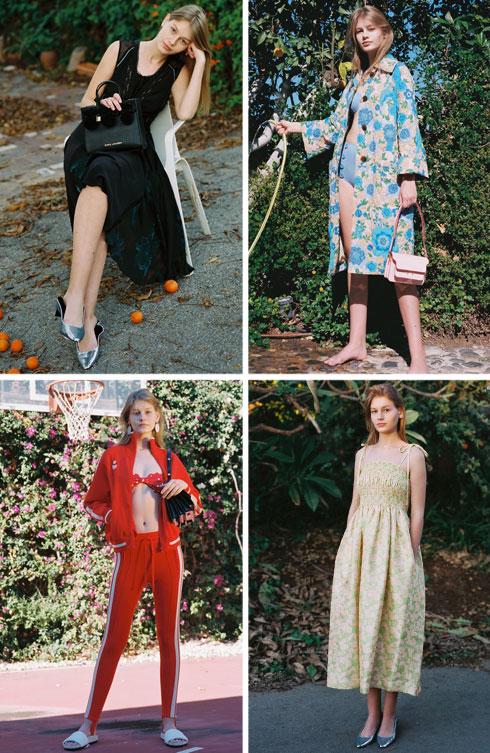 סופיה מצטנר לפקטורי 54. פריטי לבוש בצבעוניות פסטלית שתיראה נפלא בשמש הישראלית (צילום: דפי הגאי)