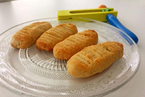 עוגיות שקדים ומייפל ללא גלוטן (צילום: אבירם פלג)
