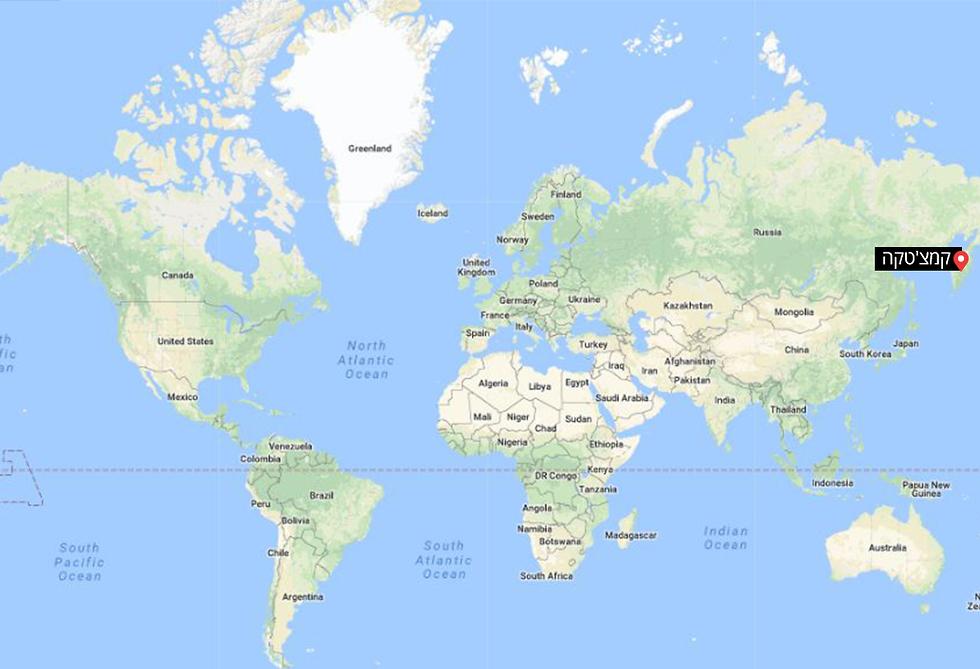 קמצ'טקה, בקצה המפה ()