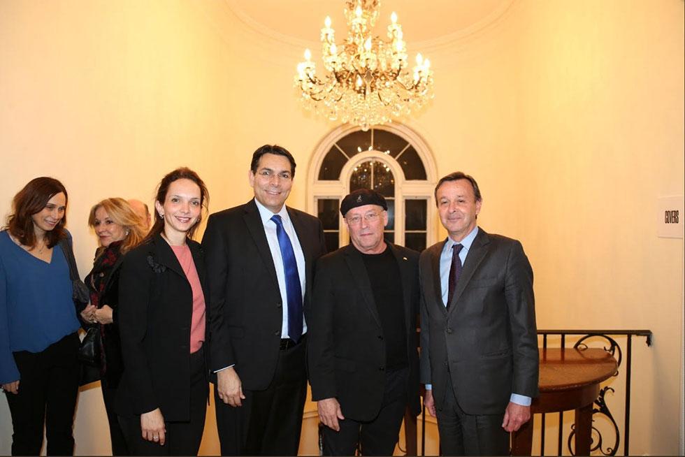 "סבסטאינו קארדי, דני דנון ומולי אדן (צילום: יח""צ) (צילום: יח"