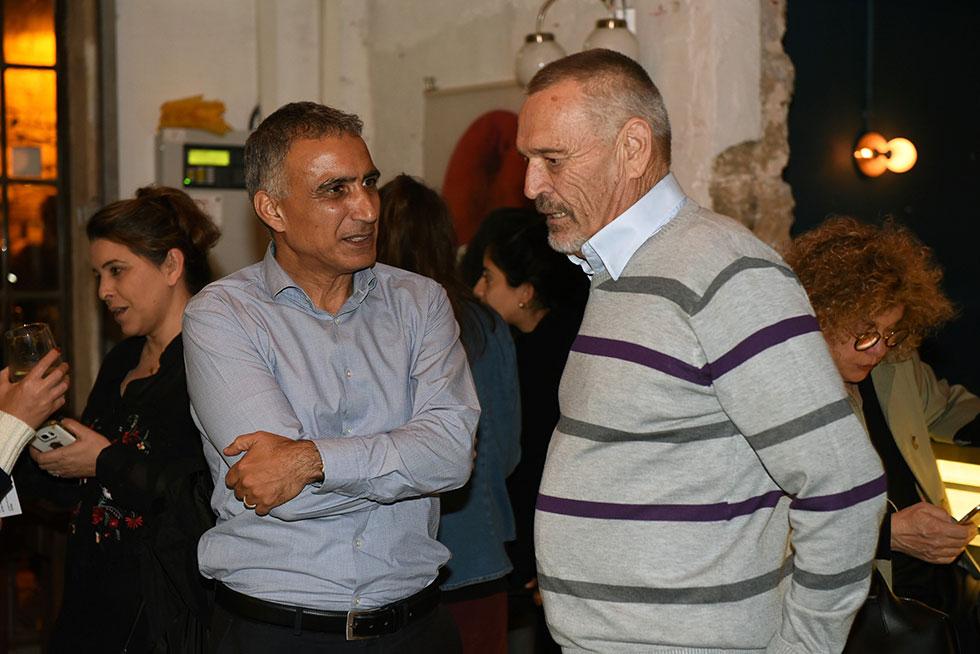 אלדד בן משה ודוד מטלון (צילום: אלעד גוטמן) (צילום: אלעד גוטמן)