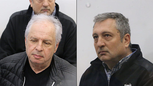 שאול אלוביץ' (משמאל) וניר חפץ (צילום: מוטי קמחי) (צילום: מוטי קמחי)