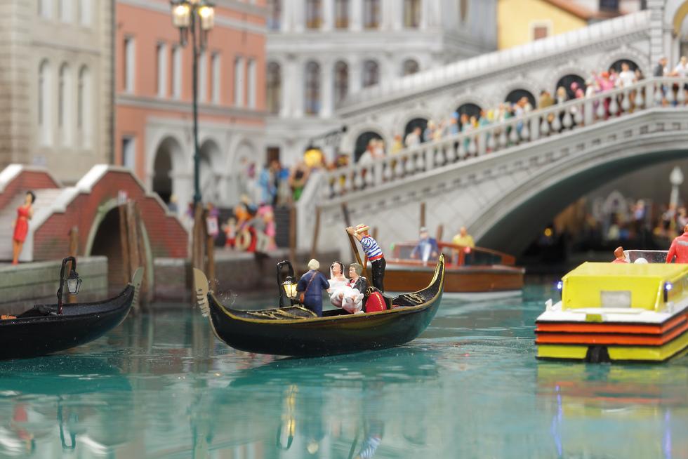 ונציה הקטנה (צילום: Miniatur Wunderland) (צילום: Miniatur Wunderland)